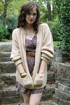 cardigan - romper