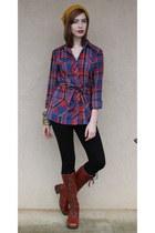 boots - shirt