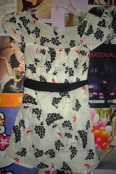 white print Voice blouse