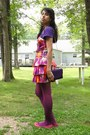 Ami-clubwear-dress-kohls-tights-clutch-purse-t-shirt-snakeskin-print-lib