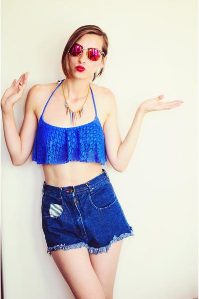 Sugarfree swimwear - mirror H&M glasses