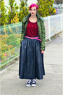 Nowistyle-top-leather-second-hand-skirt