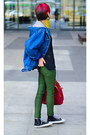 Nowistyle-bag-oversize-denim-second-hand-jacket-nowistyle-pants