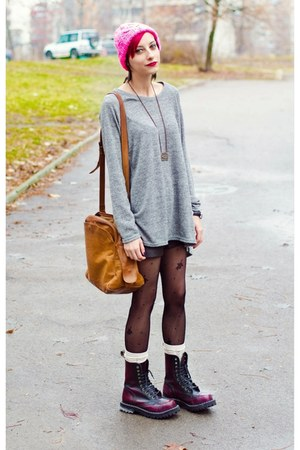 H&M hat - Steel boots - nowIStyle top