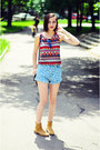 6ks-shorts-aztec-choies-top