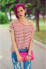 Boyfriend-cichic-jeans-stripe-nowistyle-t-shirt