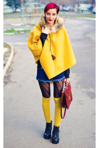mustard cape cape - La Redoute socks