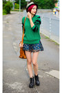 Nowistyle-hat-striped-sleeves-duras-sweater