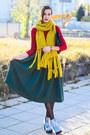 Mango-sweater-la-redoute-scarf-nowistyle-skirt
