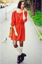 H&M dress - sammydress necklace