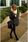 Fur-collar-scarf-downtown-tote-yves-saint-laurent-bag