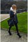 Fur-collar-scarf-downtown-tote-yves-saint-laurent-bag