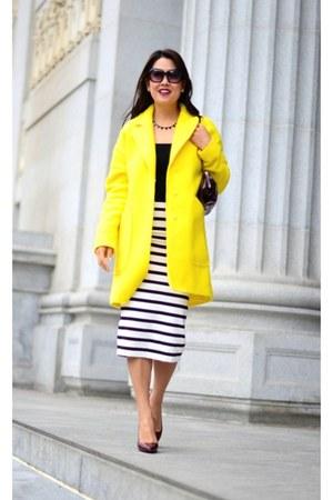 Zara coat - Zara skirt
