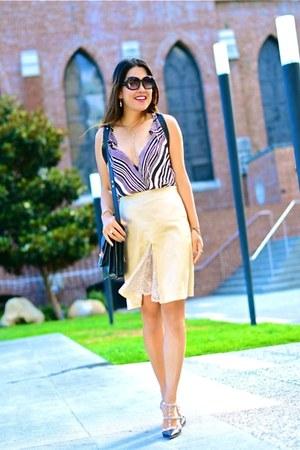 haute hippie top - Valentino heels