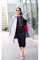 H&M top - Betsey Johnson coat - H&M skirt