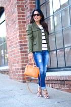 Kenzie jeans - rag & bone jacket - Valentino heels