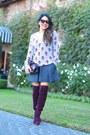 Skull-cashmere-sweater-vince-skirt