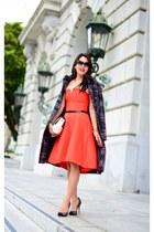 Halston Heritage dress - Dawn Levy coat