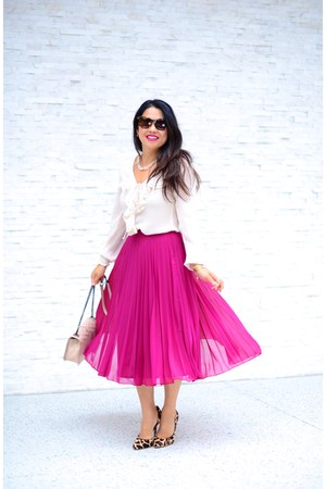 asos skirt - BCBG pumps