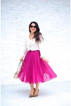 asos skirt - BCBG pumps