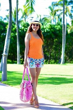 Zara shorts - Mango wedges