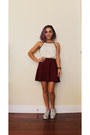 Tj-maxx-top-forever-21-skirt-asos-loafers