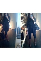Zara jeans - H&M top - H&M vest - vintage boots