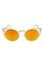 FREYRS Luna Round Cat Eye Sunglasses