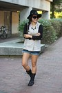 Black-urbanog-boots-black-forever-21-hat-black-calico-sunglasses