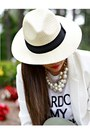Eggshell-panama-forever-21-hat-off-white-bluetique-cheap-chic-blazer