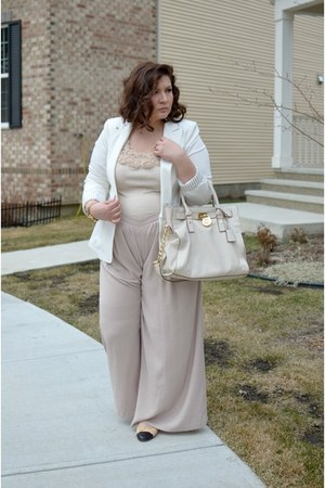 Chanel shoes - Forever 21 blazer - Zara pants