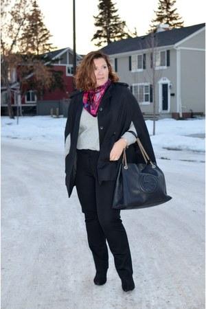 H&M cape - Gucci bag