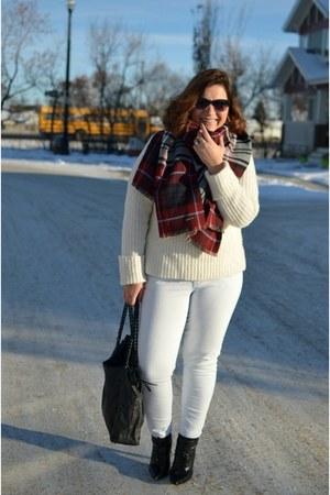 gao jeans - Zara sweater