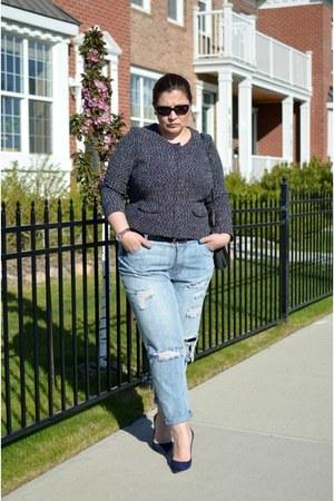 Forever 21 jeans - JCrew jacket