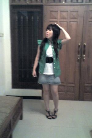 shirt - t-shirt - skirt