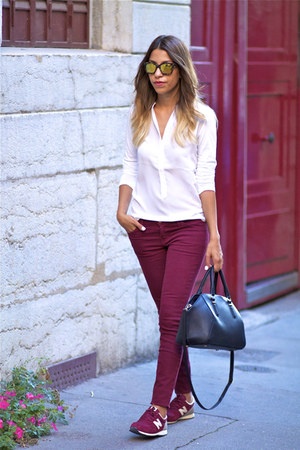 Zara bag - Current Elliott jeans - Comptoir des Cotonniers shirt