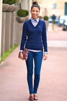Jonak shoes - Lacoste sweater - marina yachting shirt