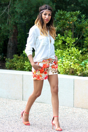 Suite Blanco shoes - Bershka shirt - Zara Kids shorts