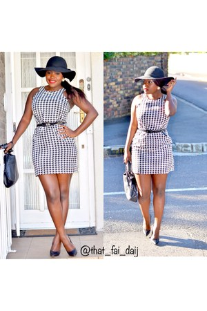 houndstooth Forever 21 dress