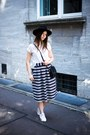 Black-h-m-hat-ivory-new-yorker-shirt-black-monki-bag-navy-asos-skirt
