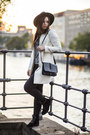 Off-white-h-m-coat-heather-gray-new-yorker-shirt-black-monki-bag