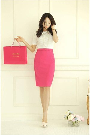 pencil skirt RibbonO skirt