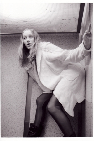 sweater - joe fresh style dress - American Apparel leggings - Aldo boots