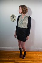 Chelsea Crew shoes - Tulle blouse - Gentle Fawn skirt