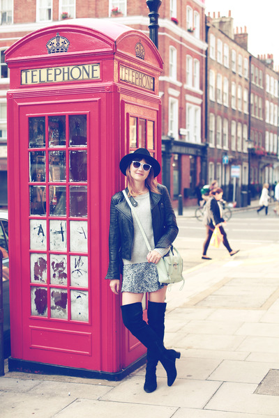 H&M boots - Zara jacket - 31 Phillip Lim bag