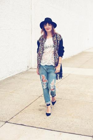 MNG jeans - Forever 21 jacket - hm bag