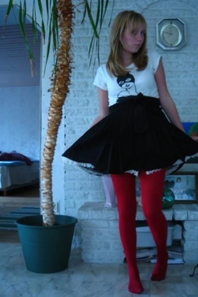 Cubus t-shirt - H&M skirt