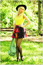 motelrocks skirt - vintage blouse