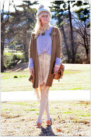 vintage sweater - Dolce Vita dress