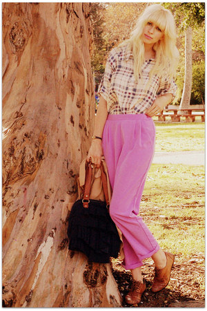 iwearsin blouse - vintage pants